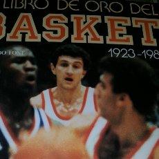 Coleccionismo deportivo: EL LIBRO DE ORO DEL BASKET. FERNANDO FONT 1923-1985. 29 X 24. 394 PAGS. Lote 207998580
