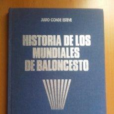 Coleccionismo deportivo: LIBRO HISTORIA DE LOS MUNDIALES DE BALONCESTO. Lote 208076305