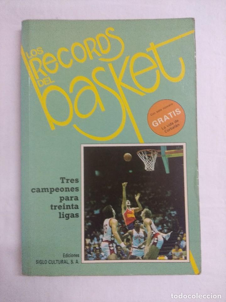 LIBRO/LOS RECORDS DEL BASKET Nº1. (Coleccionismo Deportivo - Libros de Baloncesto)