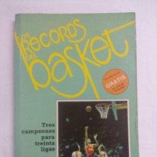 Coleccionismo deportivo: LIBRO/LOS RECORDS DEL BASKET Nº1.. Lote 208918310