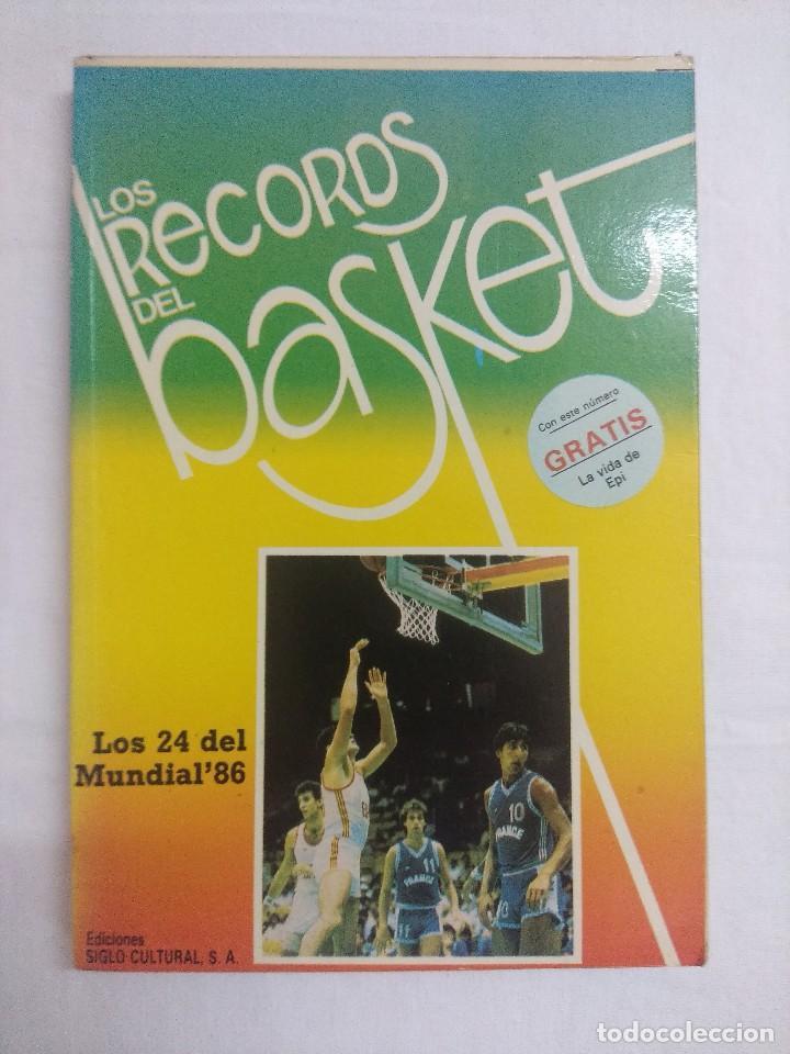 LIBRO/LOS RECORDS DEL BASKET Nº5. (Coleccionismo Deportivo - Libros de Baloncesto)
