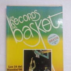 Coleccionismo deportivo: LIBRO/LOS RECORDS DEL BASKET Nº5.. Lote 208918400
