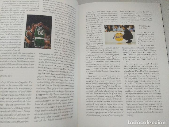Coleccionismo deportivo: LIBRO BALONCESTO/ALREDEDOR DEL PARQUE/EDICION NUMERADA. - Foto 6 - 209347048