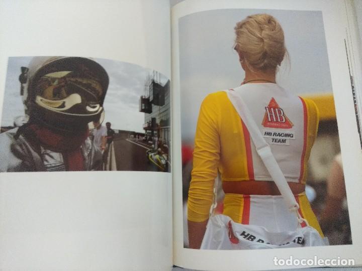 Coleccionismo deportivo: LIBRO MOTOCICLISMO/UN DIA EN LAS CARRERAS/EDICION NUMERADA. - Foto 3 - 209347373