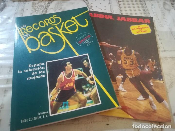 LOS RECORDS DEL BASKET Nº 3 - INCLUYE LA VIDA DE ABDUL JABBAR (Coleccionismo Deportivo - Libros de Baloncesto)