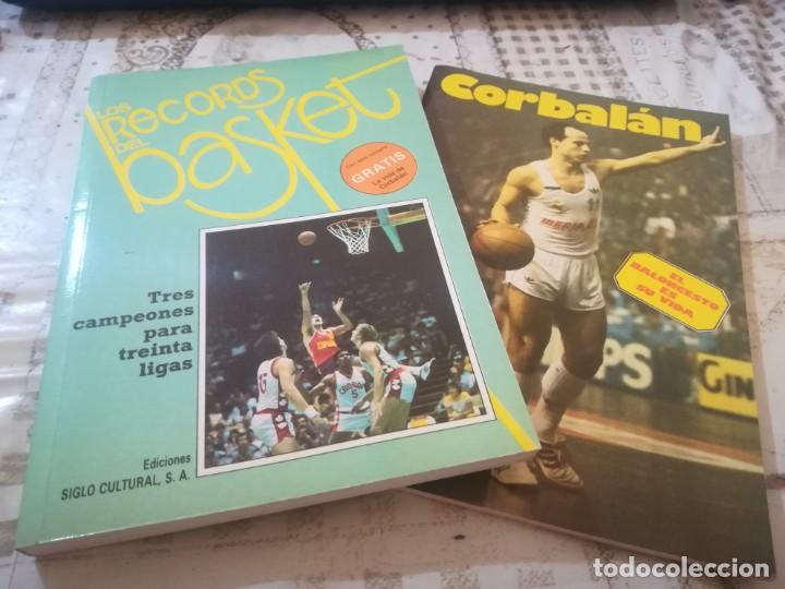 LOS RECORDS DEL BASKET Nº 1 - INCLUYE LA VIDA DE CORBALÁN (Coleccionismo Deportivo - Libros de Baloncesto)