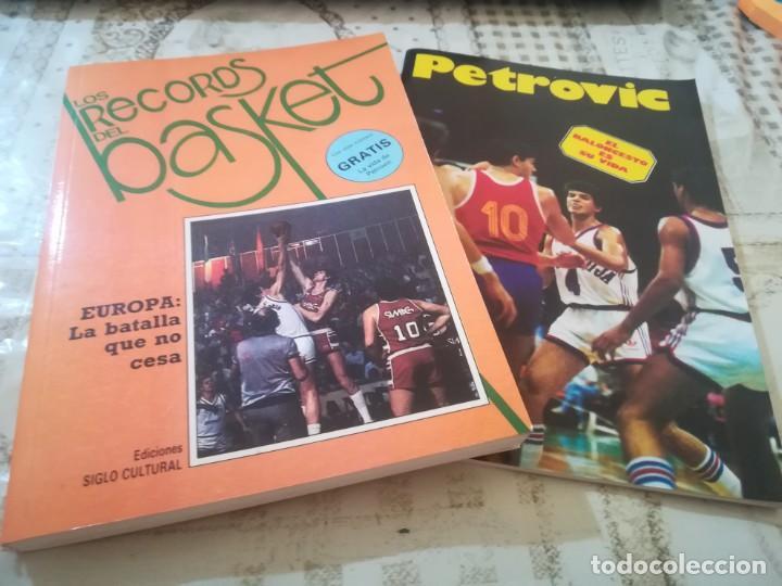 LOS RECORDS DEL BASKET Nº 2 - INCLUYE LA VIDA DE PETROVIC (Coleccionismo Deportivo - Libros de Baloncesto)