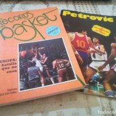 Coleccionismo deportivo: LOS RECORDS DEL BASKET Nº 2 - INCLUYE LA VIDA DE PETROVIC. Lote 209702615