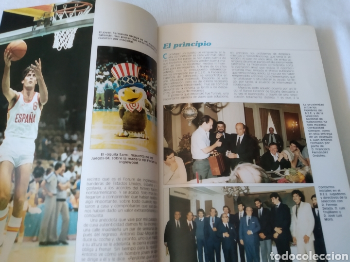 Coleccionismo deportivo: LIBRO PLATA OLIMPIADAS LOS ANGELES 84 - Foto 5 - 209831928