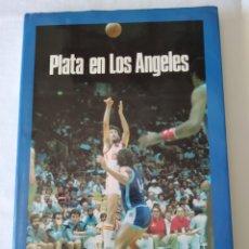 Coleccionismo deportivo: LIBRO PLATA OLIMPIADAS LOS ANGELES 84. Lote 209831928