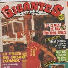 Coleccionismo deportivo: GIGANTES DEL BASKET-Nº 62-12 DE ENERO DE 1987-CON POSTER DE WAINE ROBINS. Lote 213423005