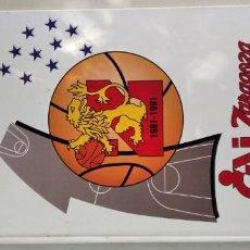Coleccionismo deportivo: CAI ZARAGOZA DIEZ AÑOS DE BALONCESTO 1981 - 1991 GRAVOL 4. Lote 215479755