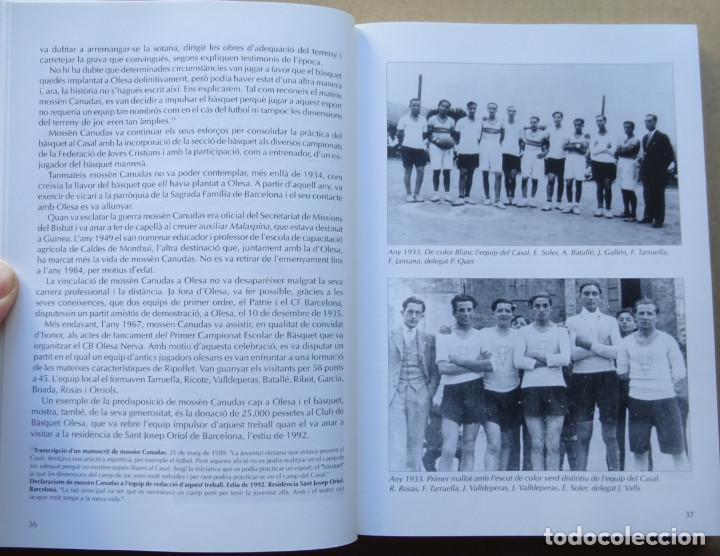 Coleccionismo deportivo: OLESA I EL BÀSQUET. UNA HISTÒRIA DE 60 ANYS - Foto 3 - 217035052