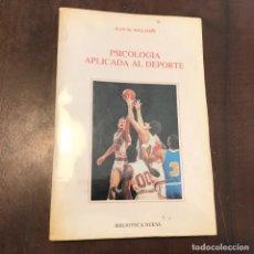 Coleccionismo deportivo: PSICOLOGÍA APLICADA AL DEPORTE - JEAN M. WILLIAMS. Lote 217895356