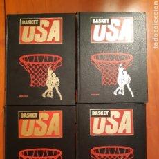 Coleccionismo deportivo: BASKET USA - HOBBY PRESS ( 4 TOMOS ) COMOLETA. Lote 219137592