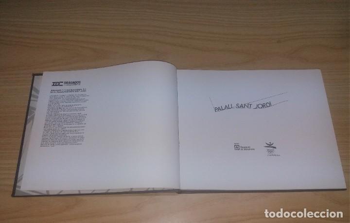 Coleccionismo deportivo: Libro. Palau Sant Jordi, versión en catalán. Barcelona 92. 1990, 104 pags - Foto 2 - 251262530