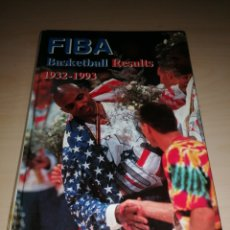 Collectionnisme sportif: FIBA BASKETBALL RESULTS 1932 1993. Lote 226172792
