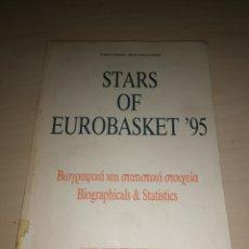 Coleccionismo deportivo: STARS OF EUROBASKET 95. Lote 226172798