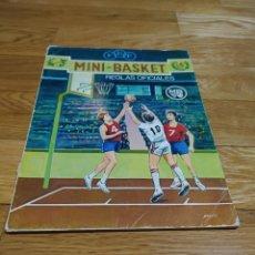Collectionnisme sportif: MINI-BASKET REGLAS SOCIALES MADRID 1974 38 PAGINAS. Lote 233164095