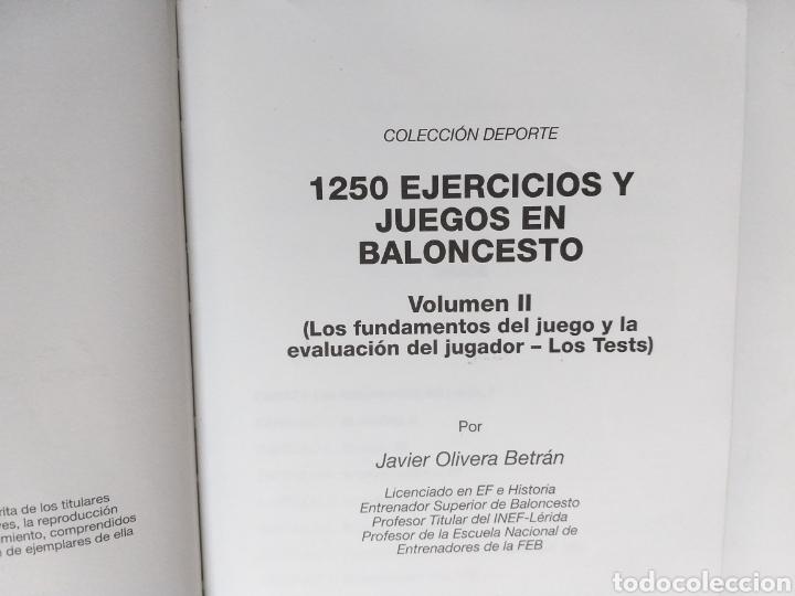 Coleccionismo deportivo: 1250 ejercicios y juegos en baloncesto. Volumen II . Los fundamentos del juego y la evaluación del j - Foto 5 - 234902080