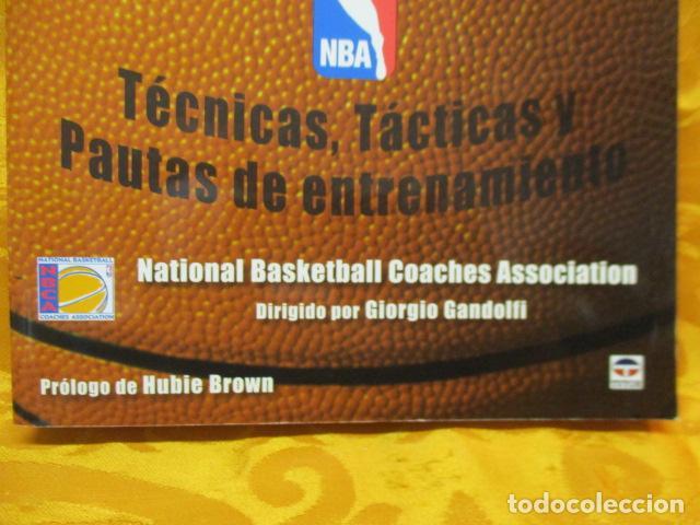 Coleccionismo deportivo: LIBRO DE JUGADAS DE LOS ENTRENADORES DE LA NBA - COMO NUEVO. - Foto 4 - 236247115