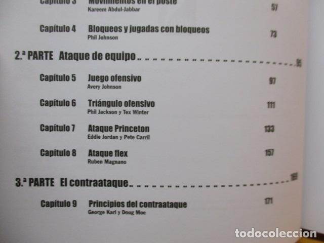 Coleccionismo deportivo: LIBRO DE JUGADAS DE LOS ENTRENADORES DE LA NBA - COMO NUEVO. - Foto 12 - 236247115