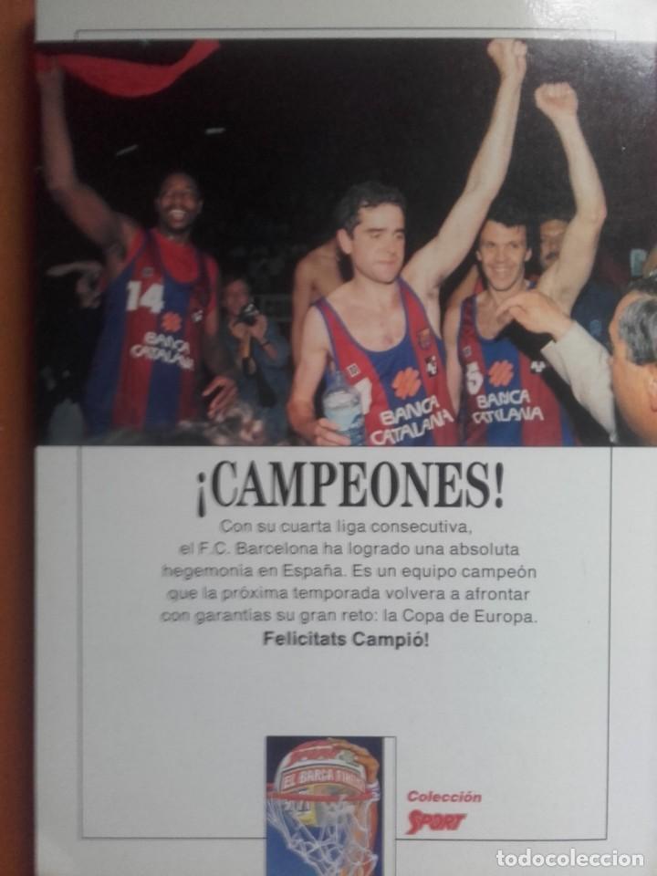 Coleccionismo deportivo: libro baloncesto gigantes de Europa Fc Barcelona basket - Foto 2 - 236783115