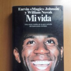 Coleccionismo deportivo: LIBRO MI VIDA MAGIC JOHNSON NBA ANGELES LAKERS JORDAN BIRD. Lote 236873125