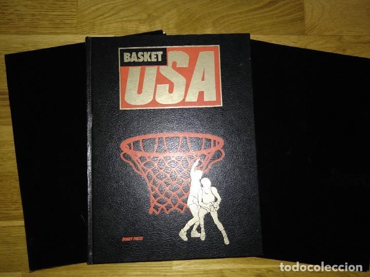 LIBRO Y FASCÍCULOS BASKET USA AÑOS OCHENTA (Coleccionismo Deportivo - Libros de Baloncesto)