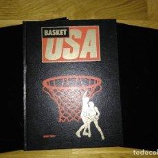 Collectionnisme sportif: LIBRO Y FASCÍCULOS BASKET USA AÑOS OCHENTA. Lote 251903855