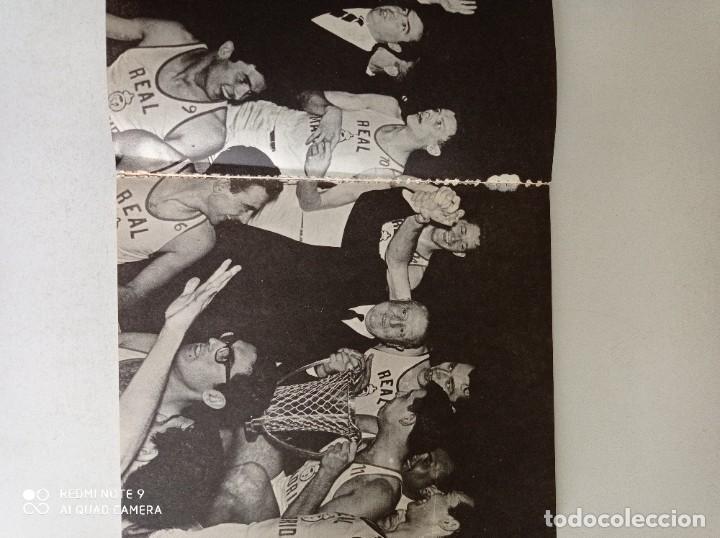 Coleccionismo deportivo: Antiguo libro De Baloncesto El Real Madrid gigante del baloncesto Español - Foto 4 - 243155935