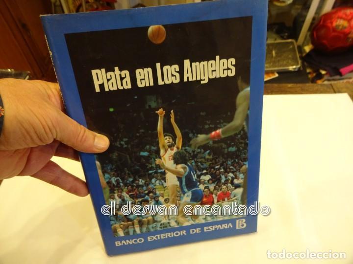 BALONCESTO. PLATA EN LOS ANGELES. LIBRO BANCO EXTERIOR ESPAÑA. AÑO 1984 (Coleccionismo Deportivo - Libros de Baloncesto)