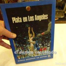 Coleccionismo deportivo: BALONCESTO. PLATA EN LOS ANGELES. LIBRO BANCO EXTERIOR ESPAÑA. AÑO 1984. Lote 243876650