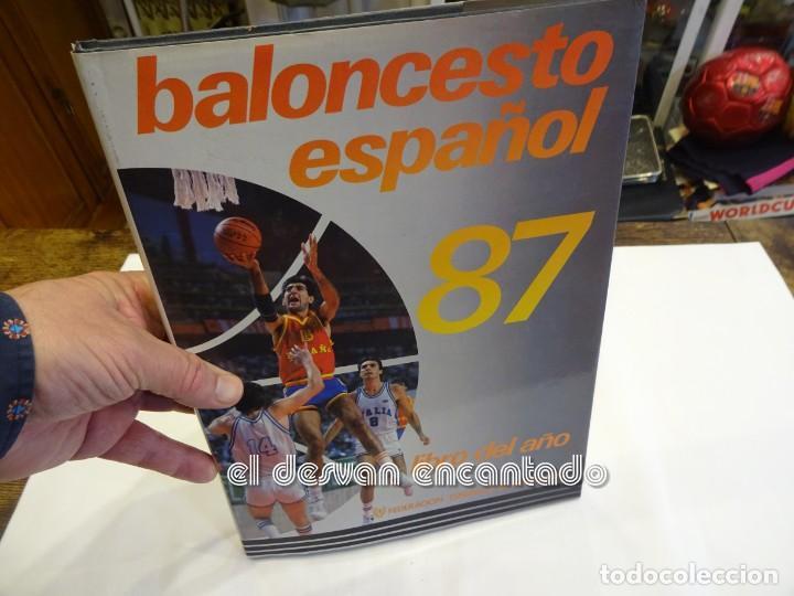 BALONCESTO ESPAÑOL 87. LIBRO DEL AÑO. FEDERACIÓN ESPAÑOLA DE BALONCESTO (Coleccionismo Deportivo - Libros de Baloncesto)