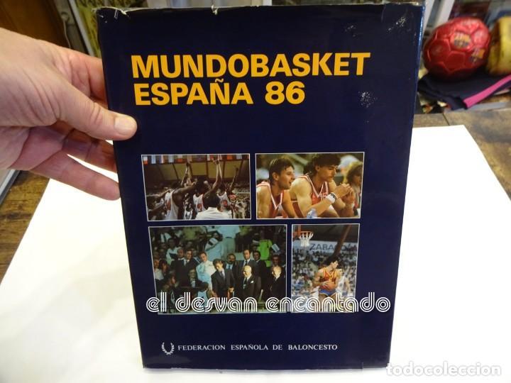 MUNDOBASKET 86. LIBRO 1ª EDICION. FEDERACIÓN ESPAÑOLA DE BALONCESTO (Coleccionismo Deportivo - Libros de Baloncesto)