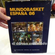 Coleccionismo deportivo: MUNDOBASKET 86. LIBRO 1ª EDICION. FEDERACIÓN ESPAÑOLA DE BALONCESTO. Lote 243877770