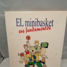 Coleccionismo deportivo: EL MINIBASKET: SUS FUNDAMENTOS. Lote 243998835