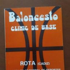 Coleccionismo deportivo: LIBRO BALONCESTO CLÍNIC DE BASE. Lote 244782955