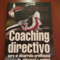 Coleccionismo deportivo: COACHING DEPORTIVO. Lote 244952675
