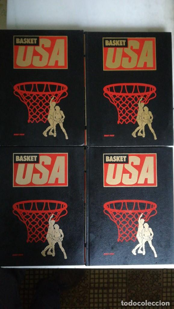 BASKET USA-4 TOMOS- HOBBY PRESS. COMPLETA. 1986 (Coleccionismo Deportivo - Libros de Baloncesto)