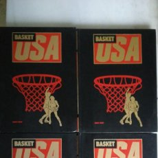 Collectionnisme sportif: BASKET USA-4 TOMOS- HOBBY PRESS. COMPLETA. 1986. Lote 245066980