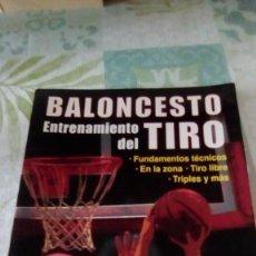 Coleccionismo deportivo: BALONCESTO ENTRENAMIENTO DEL TIRO , DAVE HOPLA. Lote 245357715
