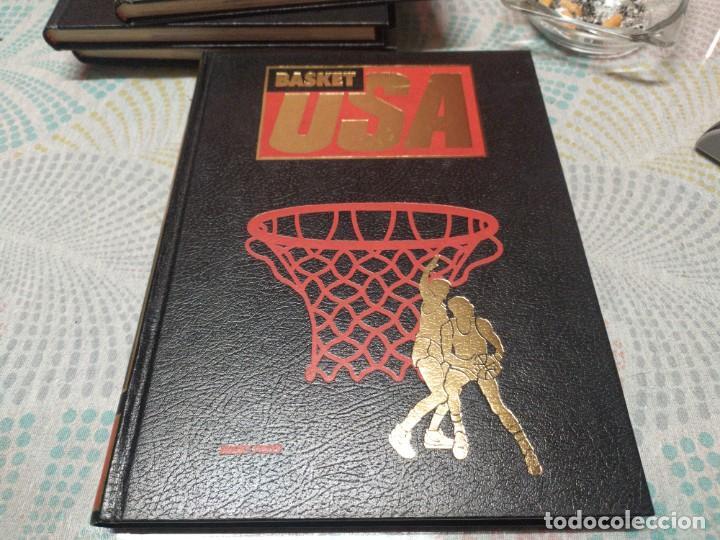 BASKET USA-4 TOMOS- HOBBY PRESS. COMPLETA. (Coleccionismo Deportivo - Libros de Baloncesto)
