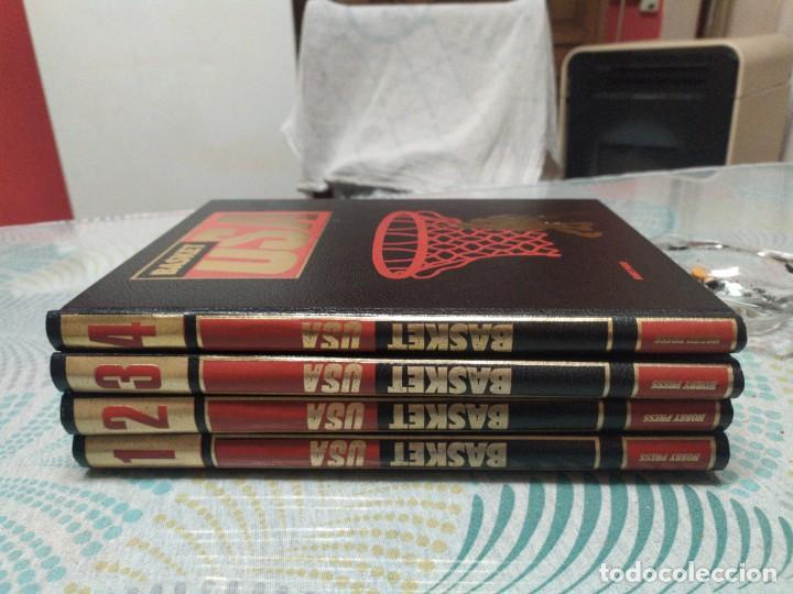 Coleccionismo deportivo: Basket Usa-4 tomos- Hobby Press. Completa. - Foto 2 - 247227180