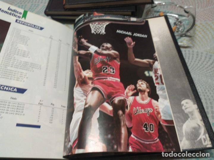 Coleccionismo deportivo: Basket Usa-4 tomos- Hobby Press. Completa. - Foto 5 - 247227180