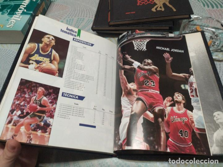 Coleccionismo deportivo: Basket Usa-4 tomos- Hobby Press. Completa. - Foto 6 - 247227180