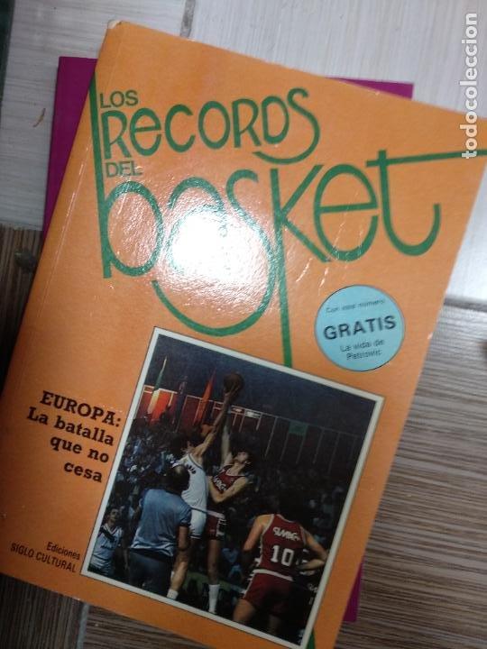LOS RECORDS DEL BASKET - EUROPA LA BATALLA QUE NO CESA (Coleccionismo Deportivo - Libros de Baloncesto)