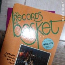 Coleccionismo deportivo: LOS RECORDS DEL BASKET - EUROPA LA BATALLA QUE NO CESA. Lote 252564725