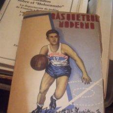 Coleccionismo deportivo: BASQUETBOL MODERNO DAVIDSON SANTIAGO DE CHILE 1950. Lote 252574890