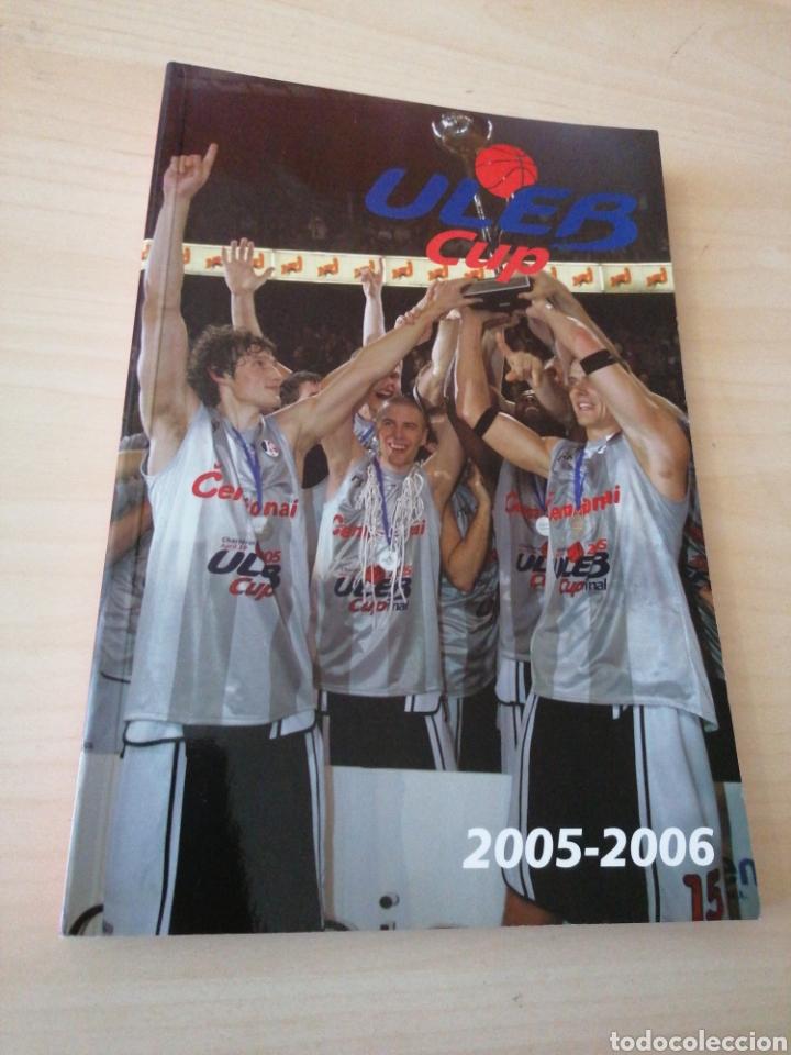 ULEB CUP 2005-06 - OFFICIAL MEDIA GUIDE (Coleccionismo Deportivo - Libros de Baloncesto)